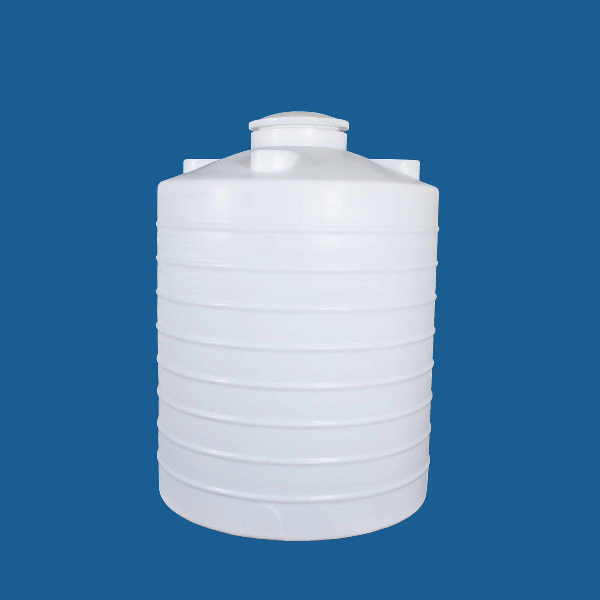 2吨原水PE水箱/水塔